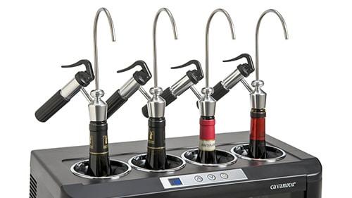 Overviewbild für Flaschenkühler mit 4 Dispensern