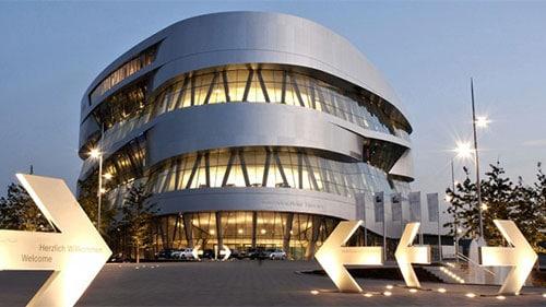 Übersichtsbild zum Portfolio Architektur - Mercedes Benz Museum