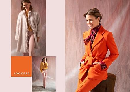 Die fertige Anzeige mit 3 Bildern von exclusiver handgemachter Damenmodefür eine Anzeige zum Sonderheft